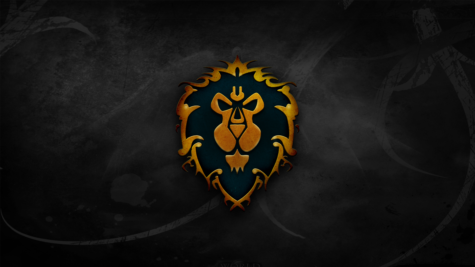 World of Warcraft crest lions Alliance