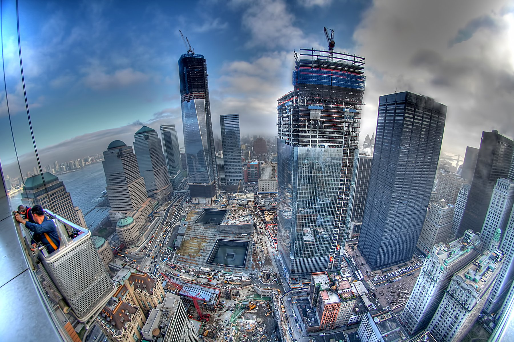 WTC WORLD TRADE CENTER skyscraper city cities building new york