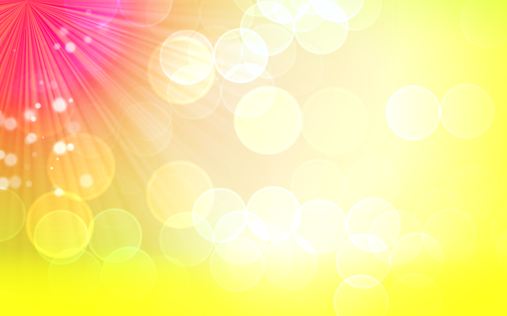 Yellow Bokeh Pictures