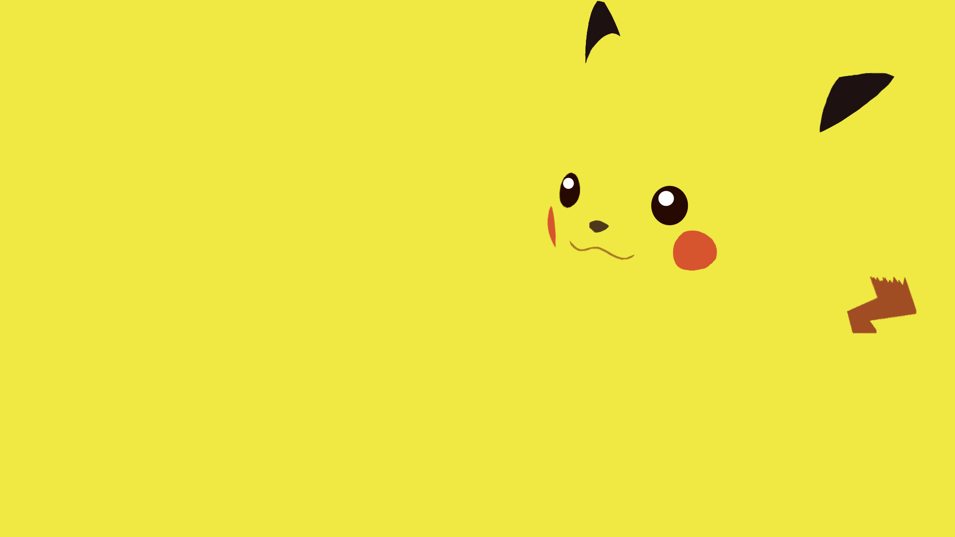 yellow Pikachu