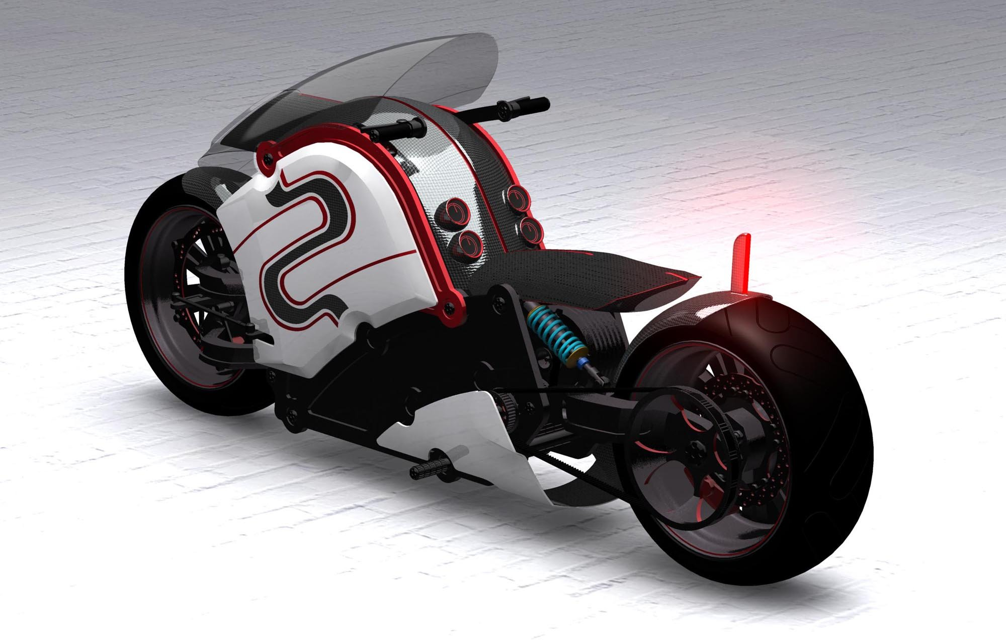 zecOO ELECTRIC superbike bike concept motorbike motorcycle 1zecoo custom g